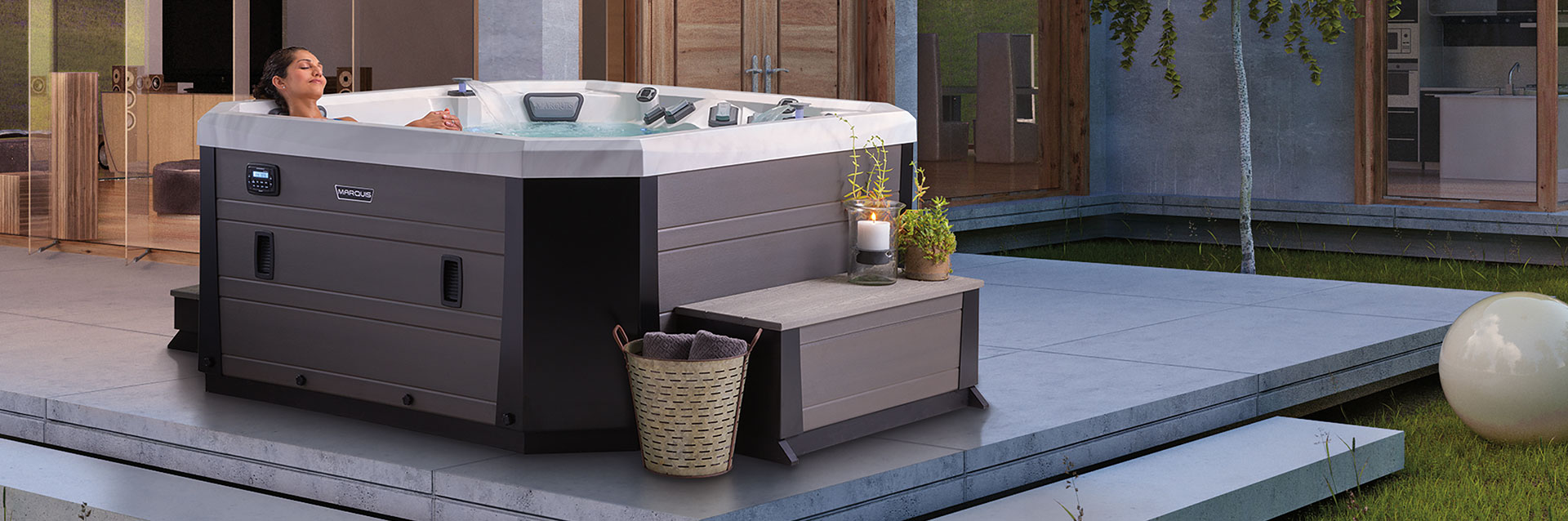 Marquis Vector21 Hot Tub Environments