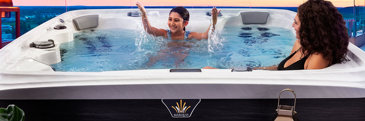 Marquis Crown Collection Hot Tubs High-Flow Therapy