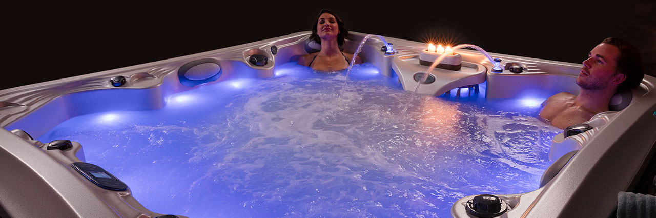 Marquis hot tub lighting options