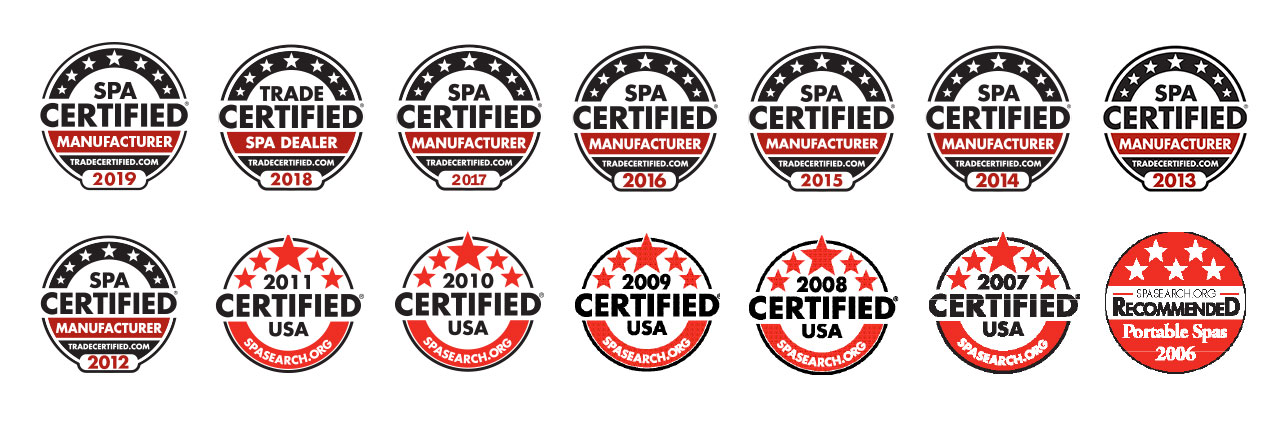 Marquis SpaCertified Award-winning Legacy